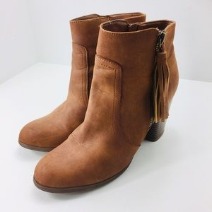 Madden Girl Dante Boots Ankle Brown Size 8.5